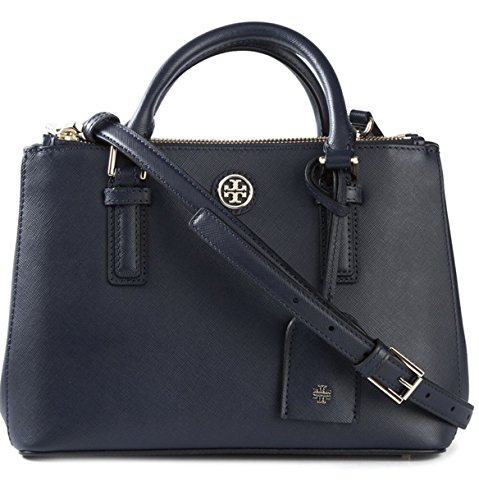 Robinson Micro Double-zip Tote $425.00 Navy Blue
