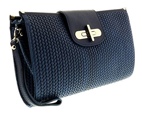 CORA Leather Clutch/Shoulder Bag