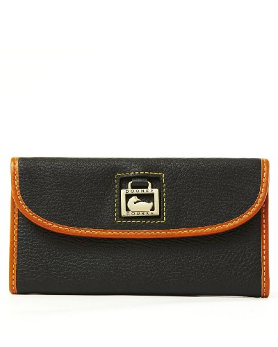Dooney & Bourke Dillen2 Trim Continental Clutch, Black
