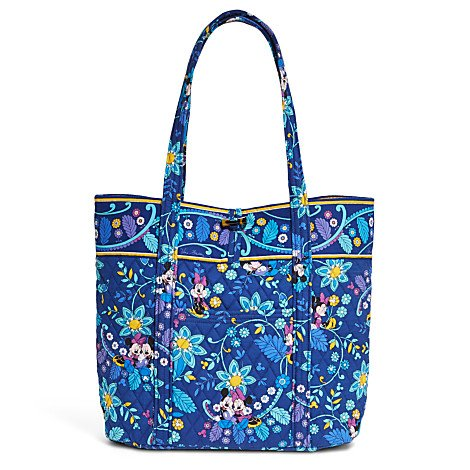 Vera Bradley Mickey and Minnie Mouse Disney Dreaming Tote Blue Multi