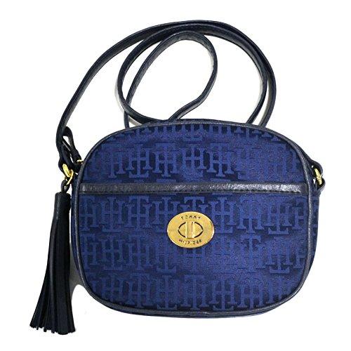 Tommy Hilfiger Womens Blue Campus Cross Body Handbag