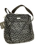 Baggallini Special Edition Prance Crossbody Black Patterned