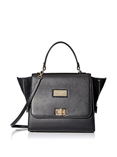 Valentino Bags by Mario Valentino Women's Zellie Satchel, Black