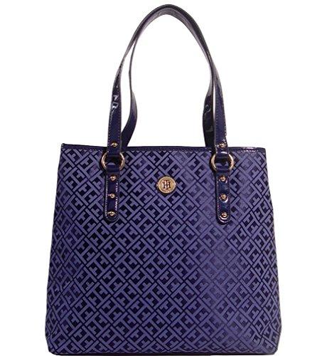 Tommy Hilfiger Large Shopper Tote Bag Handbag Purse