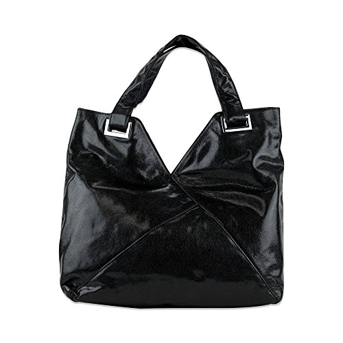 Kooba Ryder Hobo Black Leather Bag