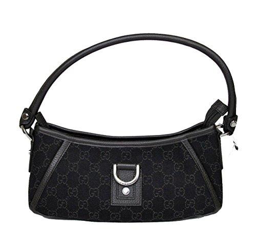 Gucci Abbey Brown Denim Hobo Bag Handbag 293583