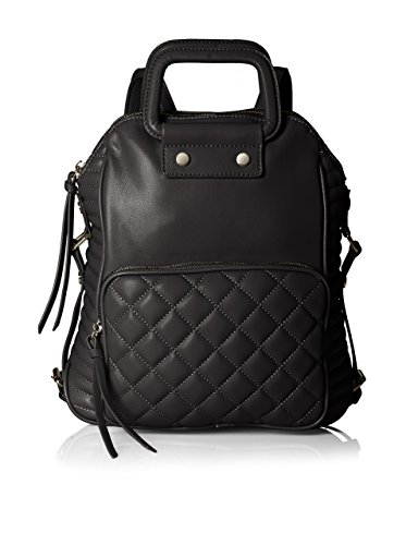 Steve Madden Women's Schoold Convertible Backpack, Black