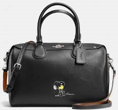 Coach Snoopy Bennett Satchel Limited Edition F37271