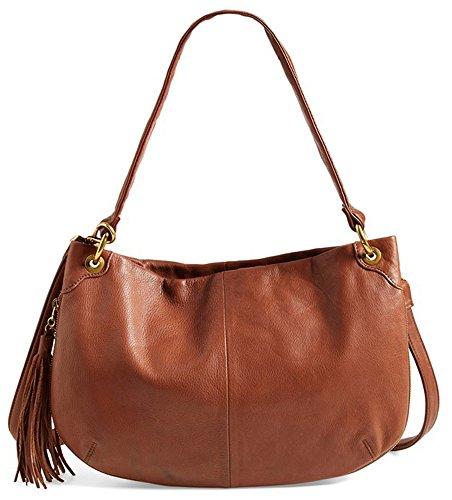 Hobo Handbags Supersoft Leather Vale Crossbody – Brandy