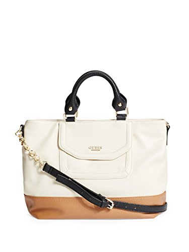 GUESS Women's Vanessa Color-Block Satchel