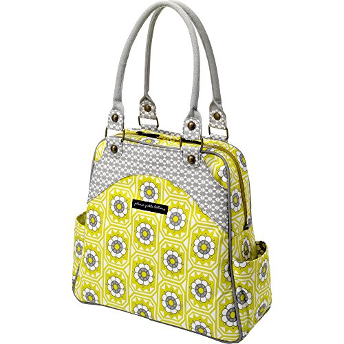 Petunia Pickle Bottom Sashay Satchel, Succulent Garden