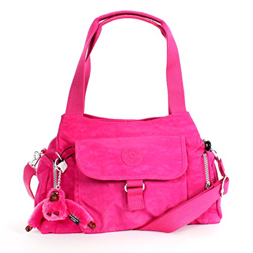Kipling Fairfax L Shoulder Bag Crossbody Very Berry
