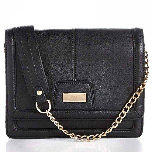 BCBG Paris Chic Crossbody Bag – Black
