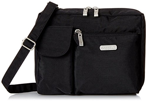 Baggallini Women's Special Edition Wallet Bagg Crossbody Shoulder Bag Black
