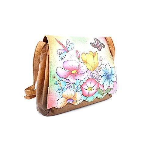 Anuschka Women's Scallop Flap Bag ANNA by Anuschka