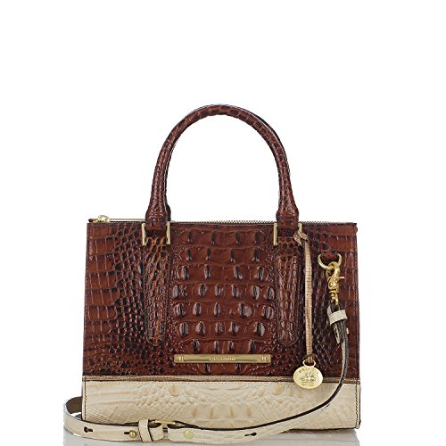 Brahmin Anywhere Convertible Coquette Tri-texture Leather