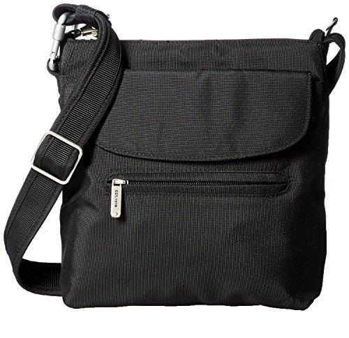 Travelon Women's Anti-Theft Mini Shoulder Bag Black,US