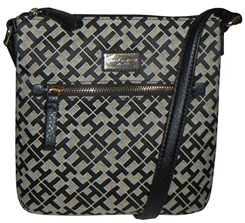 Tommy Hilfiger Handbag Crossbody Canvas Black