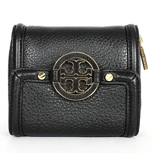 Tory Burch Amanda Trifold French Wallet Black