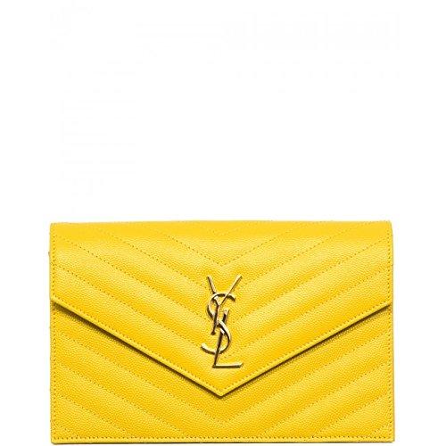 YSL Saint Laurent Monogram Saint Laurent Chain Wallet Handbag