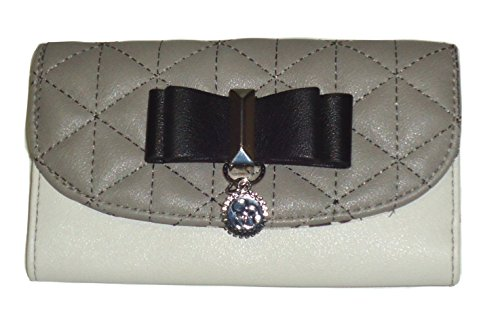 Jessica Simpson Cement/Gray Hailey Continental Wallet Wristlet Clutch