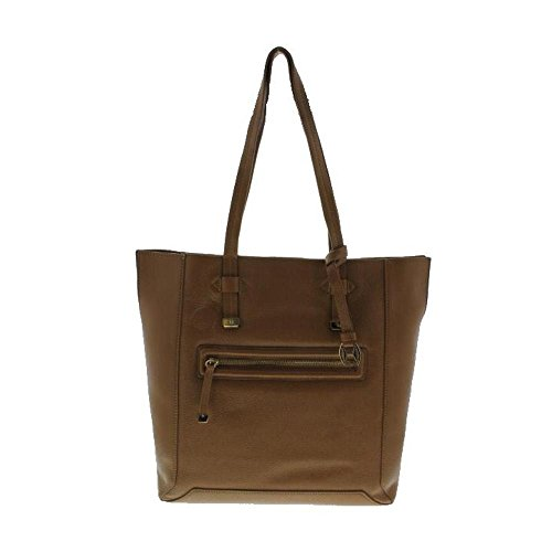 Halston Heritage Womens Leather Lined Tote Handbag