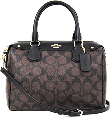 Coach Signature Mini Bennet Satchel – Brown/Black