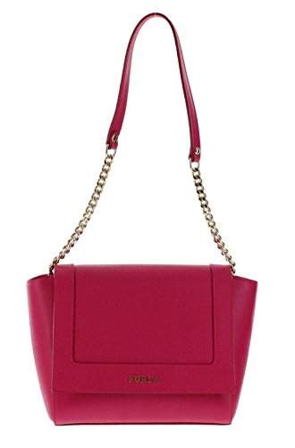 Furla Ginevra Handbag Shoulder Bag Purse in Gloss (030)