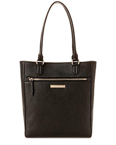 Cole Haan Melbourne Leather Tote Shoulder Handbag, Black