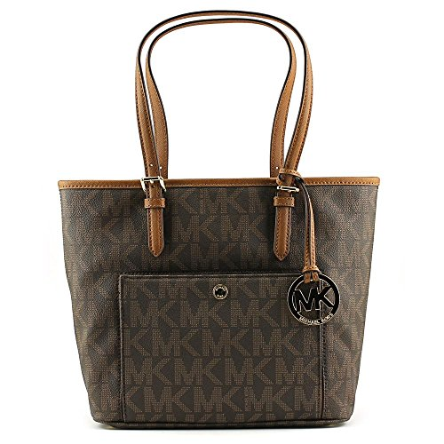 MICHAEL KORS Jet Set Snap Pocket Tote Bag