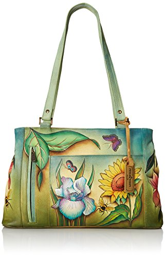 Anuschka Large Double Entry Shopper Backpack