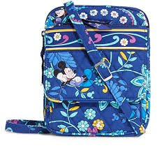 Vera Bradley Mini Hipster Mickey and Minnie Mouse Disney Dreaming