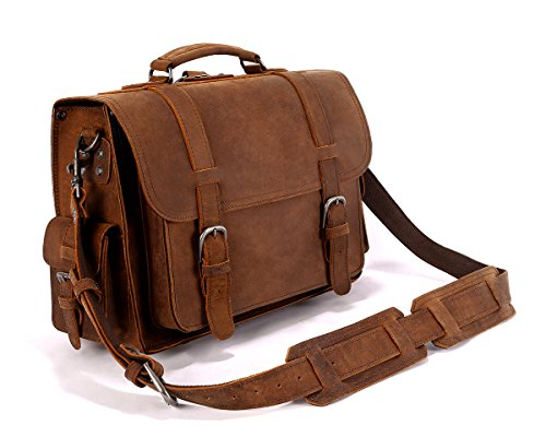 Leyden and Sons Leather Bag Co. – Williamsburg Satchel