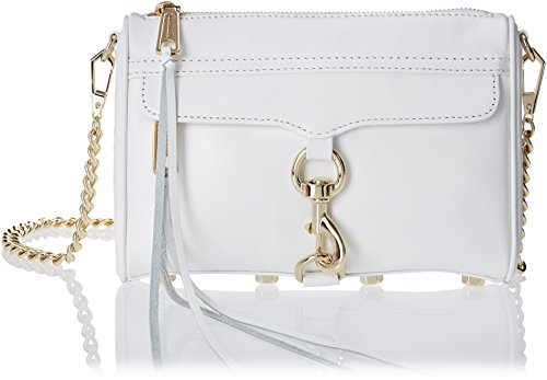 Rebecca Minkoff Mini Mac Convertible Cross Body Bag, White, One Size
