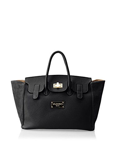 Valentino Bags by Mario Valentino Women's Omia Satchel, Black