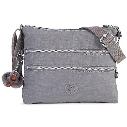 Kipling Women's Alvar Crossbody Bag One Size Dusty Grey
