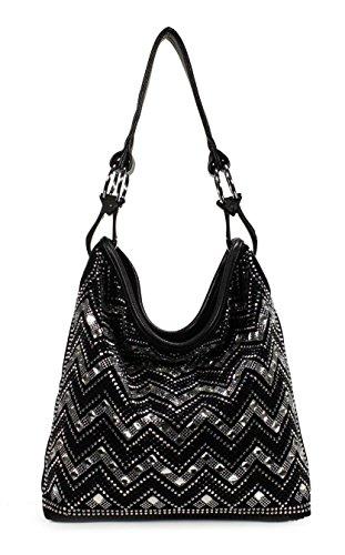 Scarleton Trendy Pattern Hobo Bag H1764