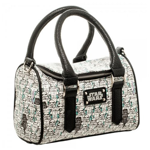Star Wars Stormtrooper Sketch Mini Satchel Handbag Purse