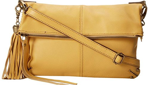 Lucky Brand Del Rey Squash Leather Foldover Crossbody