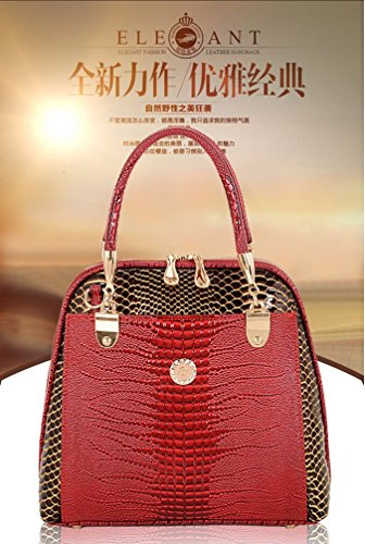 2015 New Luxury OL Lady bags famous brands Crocodile Pattern Hobo Handbag Tote Fashion Lady genuine leather bag