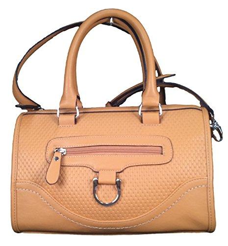 Tosca Satchel Shoulder Bag Tan