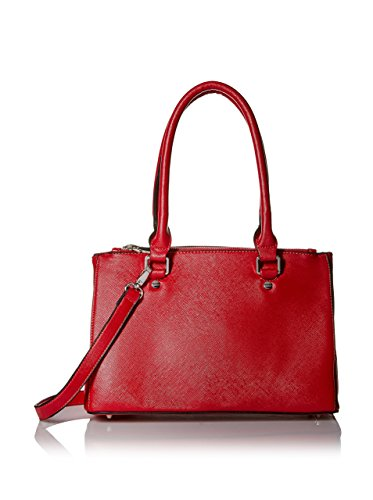 SOCIETY NEW YORK Women's Satchel Bag, Red