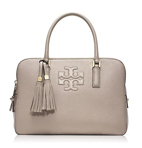 Tory Burch Thea Triple-zip Satchel Dust Storm $495.00