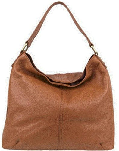 Leather Kooba Hobo Shoulder Bag In Color Luggage Brown