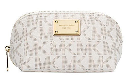 Michael Kors Jet Set Item Signature Large Travel Pouch