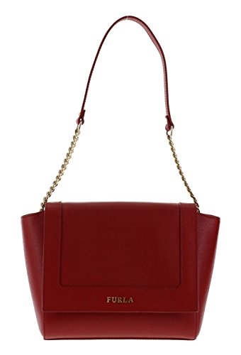 Furla Ginevra Handbag Shoulder Bag Purse in Cabernet (017)