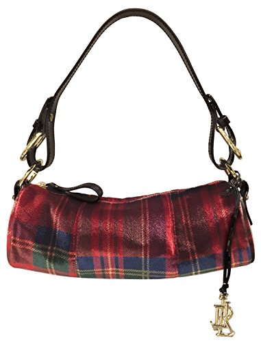 Polo Ralph Lauren Women's Plaid Roll Bag