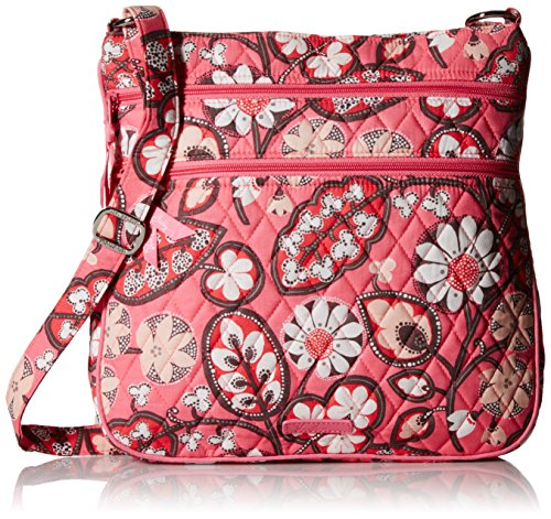 Vera Bradley Triple Zip Hipster 2 Cross Body Bag