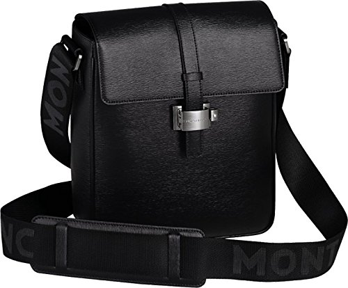Montblanc Leather Messenger Bag Clutch 104612