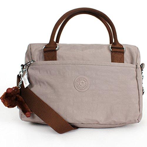 Kipling Beonica Handbag Natural Beige Grey Comb